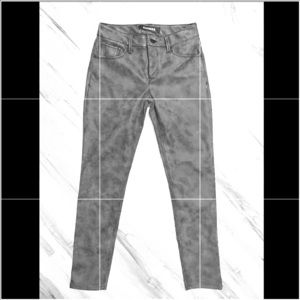 Express leather pants